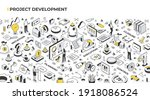 project management and...   Shutterstock .eps vector #1918086524