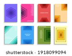 collection of vector colorful... | Shutterstock .eps vector #1918099094