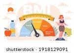 body mass index control... | Shutterstock .eps vector #1918129091