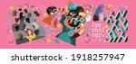 psychology  destiny  anxiety ... | Shutterstock .eps vector #1918257947