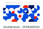 abstract minimal background in... | Shutterstock .eps vector #1918260224