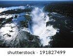 iguazu falls  parana  brazil    ... | Shutterstock . vector #191827499