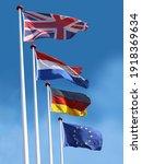 Flags Of United Kingdom  France ...
