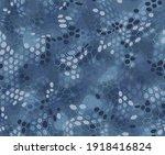 hexagonal camouflage seamless... | Shutterstock .eps vector #1918416824
