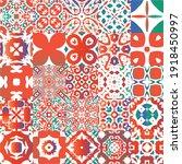 decorative color ceramic...   Shutterstock .eps vector #1918450997