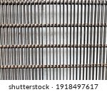 Brown Square Iron Cage Isolated ...