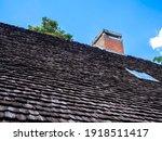 Red Brick Chimney Near The...
