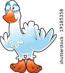 baby goose | Shutterstock .eps vector #19185358