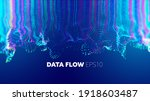 deep learning abstract vector... | Shutterstock .eps vector #1918603487