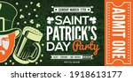 saint patrick's day party... | Shutterstock .eps vector #1918613177