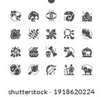 prehistoric. stone cave ... | Shutterstock .eps vector #1918620224