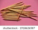 Many Natural Bamboo Toothpicks...