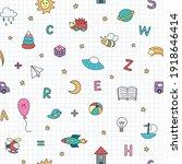 children's doodle colored set...   Shutterstock .eps vector #1918646414
