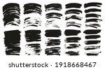 round sponge thin artist brush... | Shutterstock .eps vector #1918668467