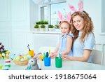 creative family leisure. happy... | Shutterstock . vector #1918675064