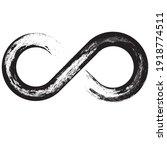 grunge infinity symbol....   Shutterstock .eps vector #1918774511