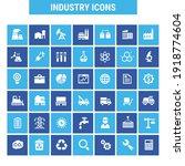 big industry icon set  trendy... | Shutterstock .eps vector #1918774604