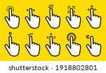 hand gesture swipe big...