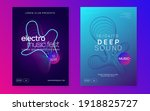 techno event. dynamic fluid...   Shutterstock .eps vector #1918825727