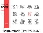 business training   line design ... | Shutterstock .eps vector #1918921037