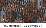 technology black background... | Shutterstock .eps vector #1918948994