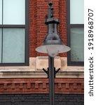 Street Light Lamp Retro Urban...