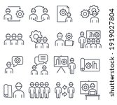 set of engineering people icon. ... | Shutterstock .eps vector #1919027804