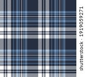 plaid pattern texture in blue... | Shutterstock .eps vector #1919059271