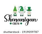 shenanigan crew calligraphy... | Shutterstock .eps vector #1919059787