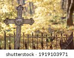 An Unnamed Burial Cross In An...