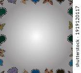 doodles elements hand drawn... | Shutterstock .eps vector #1919120117