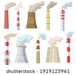 Colorful Industrial Chimneys...