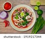 Thai Spicy Squid Salad  Thai...