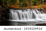 Water Falls In Rural Vermont In ...