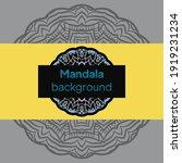 mandalas. decorative round... | Shutterstock .eps vector #1919231234