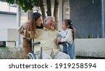 Disabled Senior Grandpa On...