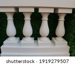 White Marble Columns In The...