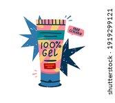 illustration of cosmetics for... | Shutterstock .eps vector #1919299121