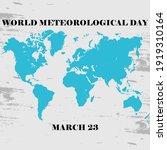 world meteorological day vector ... | Shutterstock .eps vector #1919310164