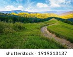 Rural Landscape In Mountains At ...