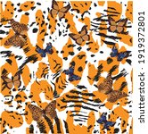 leopard fashion new print .... | Shutterstock .eps vector #1919372801