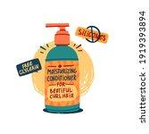 illustration of cosmetics for... | Shutterstock .eps vector #1919393894