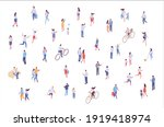 isometric vector background... | Shutterstock .eps vector #1919418974