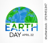 Earth Day Is An Annual Event...