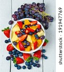 fruit salad  | Shutterstock . vector #191947769