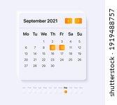 calendar ui element....