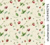 cute seamless pattern with ... | Shutterstock . vector #1919490791