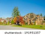 luxury house in vancouver ...   Shutterstock . vector #191951357