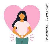 woman health concept vector... | Shutterstock .eps vector #1919517104