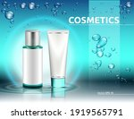 hydration cosmetics packaging... | Shutterstock .eps vector #1919565791